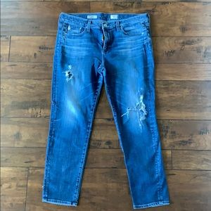 AG Jeans The Beau Slouchy Skinny